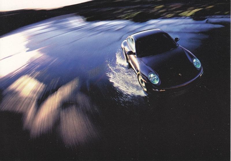 911 Carrera Coupe, A6 size postcard, CMArt Cards, Russia, 2005, rare