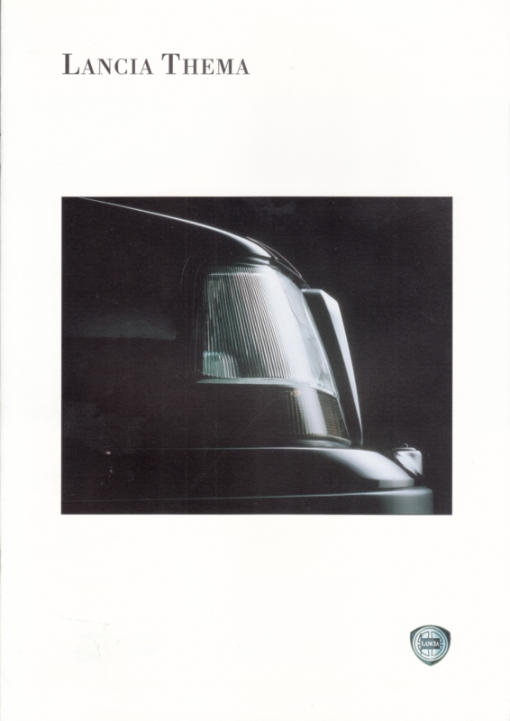 Thema brochure, A4-size, 10 pages, about 1990, Dutch language