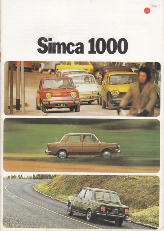 1000 range, 16 pages, 9/1973, Dutch language