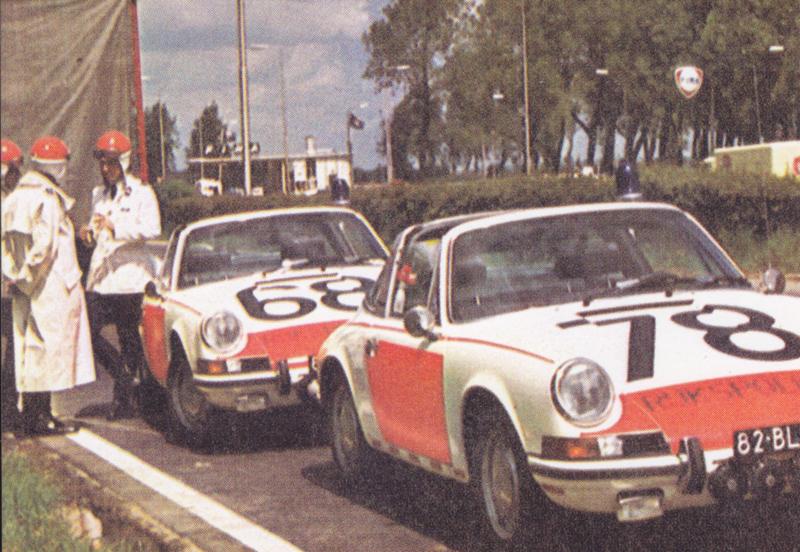 Porsche 911 Targa policecar, DIN A6-size, unused, Dutch issue, 2008