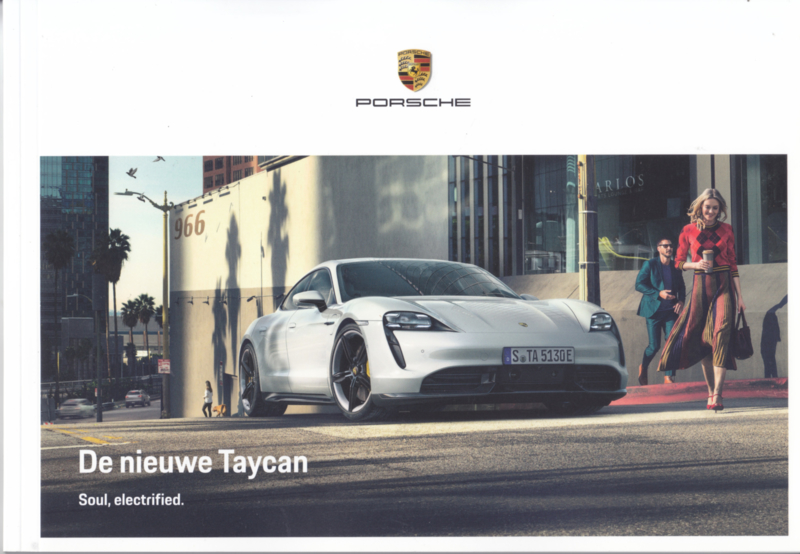 Taycan Turbo S/Turbo, 60 pages, 09/2019, Dutch language