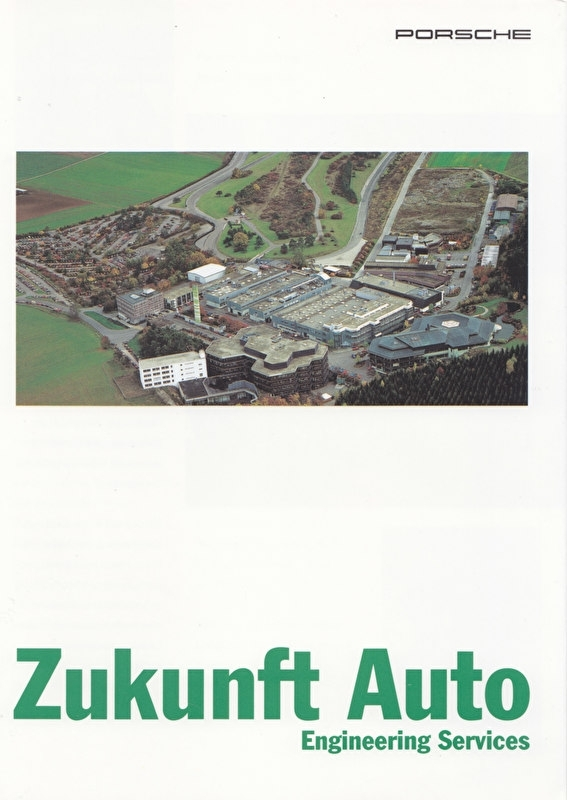 Engineering Services - Future of the car, 8 + 4 pages, 08/1995, German language