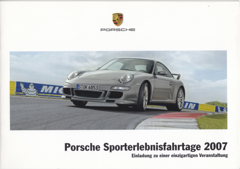 Sporterlebnisfahrtage brochure, 12 pages, 12/2006, German language