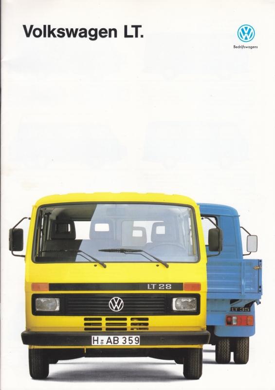LT brochure, 32 pages,  A4-size, Dutch language, 08/1991