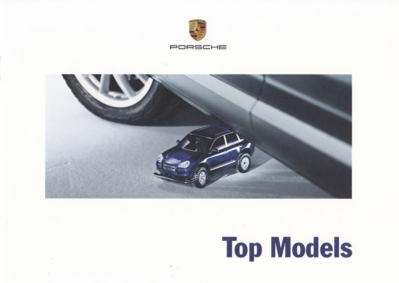 Selection - Toys & Scale Models - brochure, 24 pages, 08/2003, German language