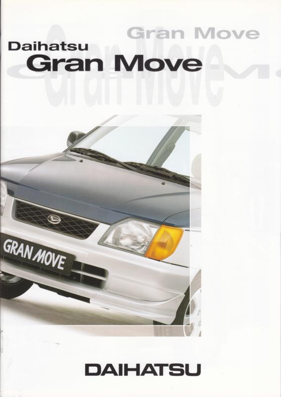 Gran Move brochure, 20 pages, 06/1997, A4-size, Dutch language