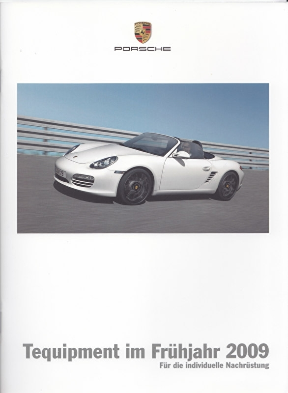 Tequipment Spring brochure + pricelist, 16 + 24 pages, 03/2009, German