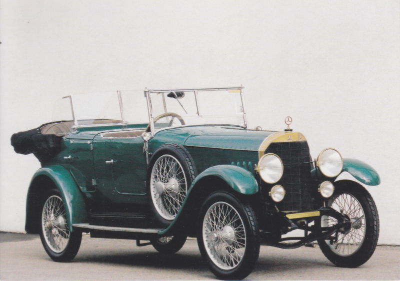 Mercedes 10/40/65 PS 1923, Classic Car(d) of the month 5/2001, Germany