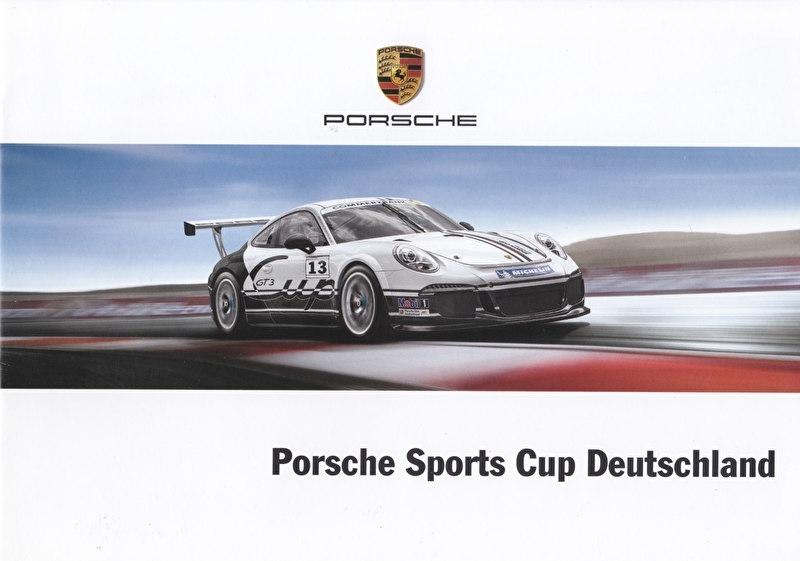 911 Sports Cup Germany, 12 pages, 03/2013, German language