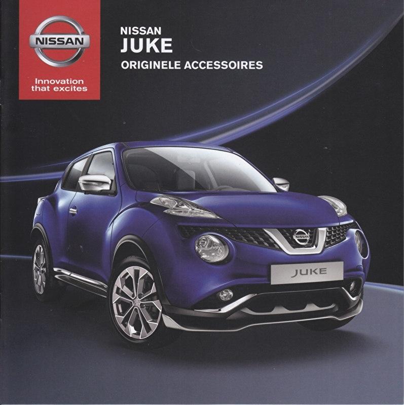 Juke accessories brochure, 26 pages, 04/2014, Dutch language