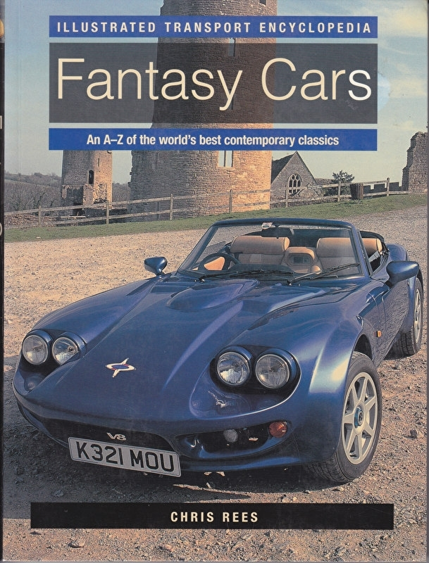 Fantasy Cars A to Z,  160 pages, English language, ISBN 0-7548-1276-6