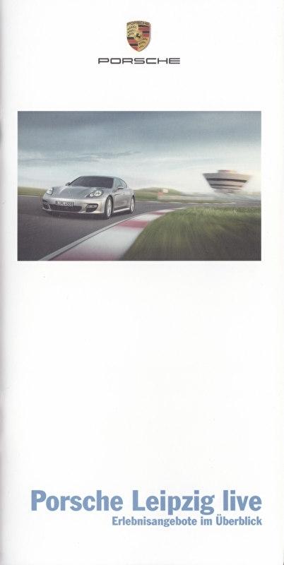 Leipzig Live brochure, 28 smaller pages, 03/2009, German language
