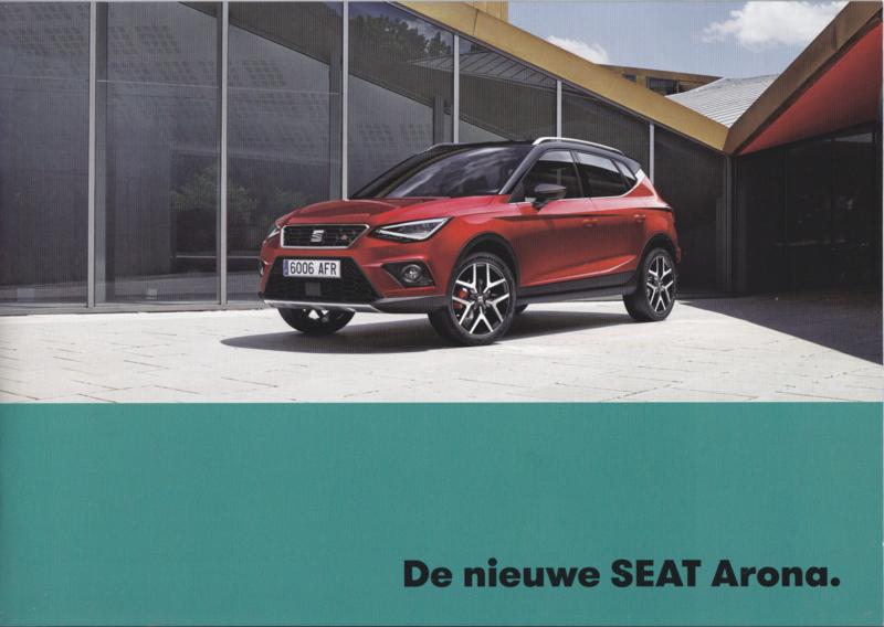 Arona new model brochure, 32 pages, 09/2017, Dutch language