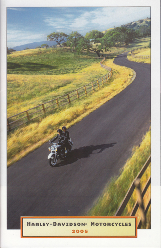 Harley Davidson 2005 program brochure, 48 pages, English language