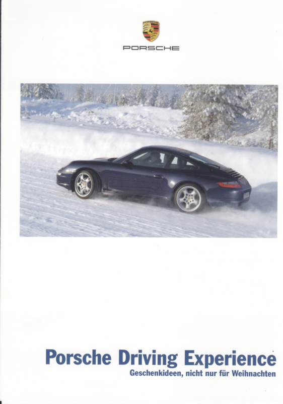 Driving Experience brochure, 4 pages, 10/2006, German language