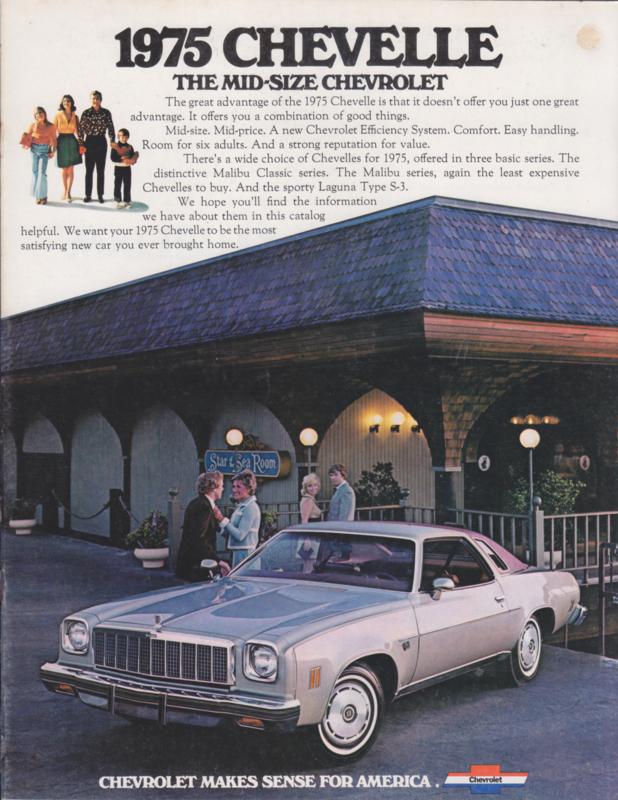 Chevelle, 16 pages, 09/1974, English language, USA