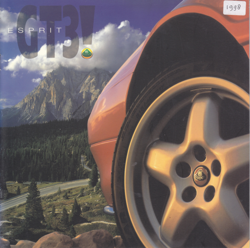 Esprit GT3!, 12 pages, factory-issued, 1998, German language