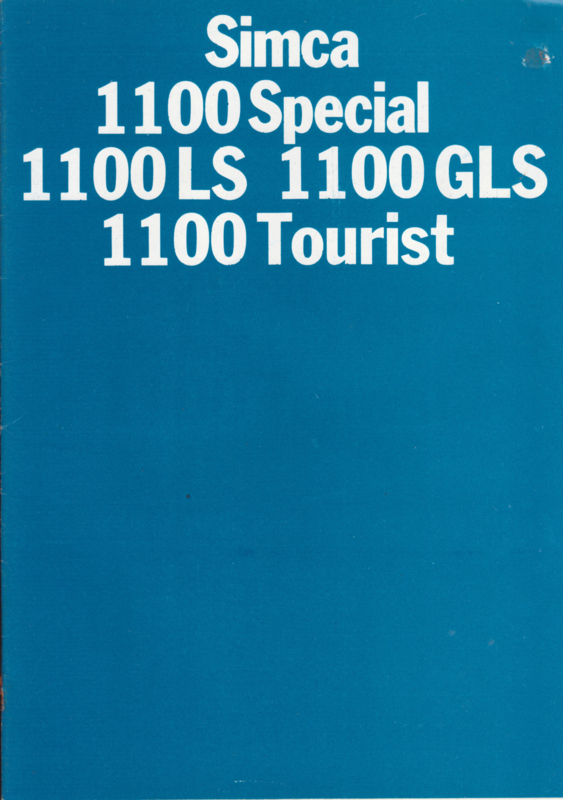 1100 range, 16 pages, 8/1971, Dutch language