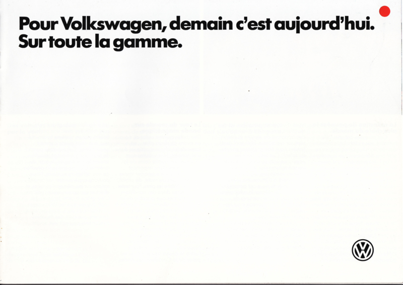 Program brochure, 12 pages,  A4-size, French language, 02/1985