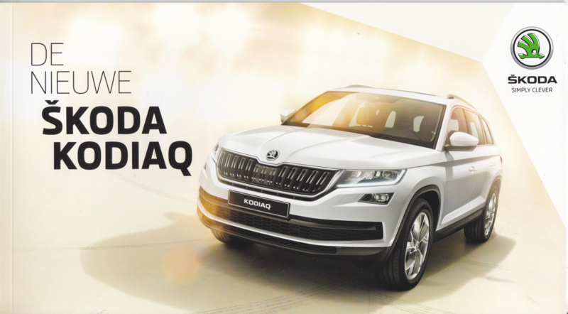 Kodiaq brochure, 20 pages, Dutch language, 2017