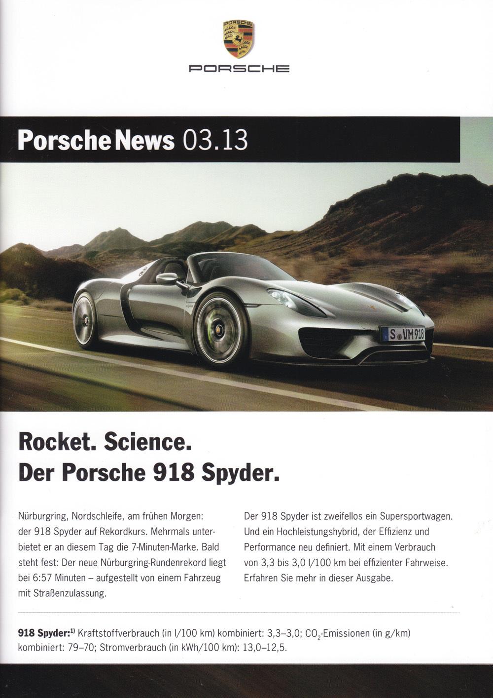 Porsche News 3-13