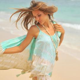 Top Anna Tie Dye - Beach - Hot Lava
