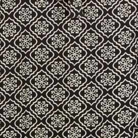 Maxi Skirt Indian Flower – Black 8221807