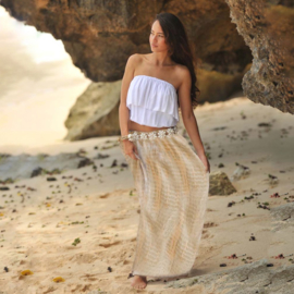 Skirt Rosa Moonstone -Taupe, Hot Lava