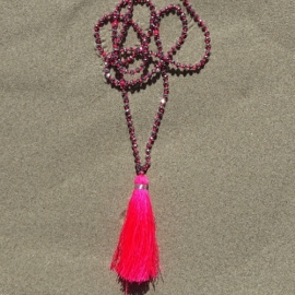 Necklace - Pink Bali Touch