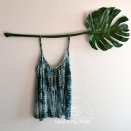 Top Anna Tie Dye - Moonlight - Hot Lava