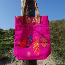 Catch My Dreams Bag -  Pink - Sand in my Shoes