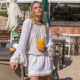 Tunic Lovely crème 8120708 - Isla Ibiza Bonita