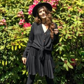 Skirt Fleur - Black - Hot Lava