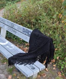 Bohemian sjaal - Black