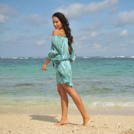 Dress Bibi, Blue Moon - Hot Lava