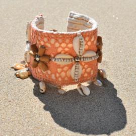 Bracelet Lush Coral  - Hot Lava