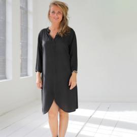 dress Verona, Charcoal- Karma by Hot Lava