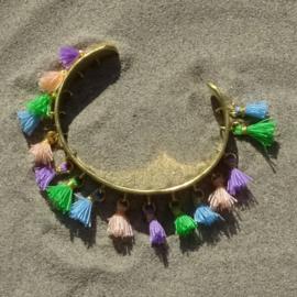 Cuff bracelet - Multi Colour 2 - Toscana Pulseras
