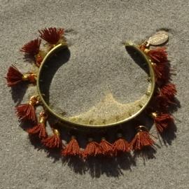 Cuff bracelet - Brown - Toscana Pulseras