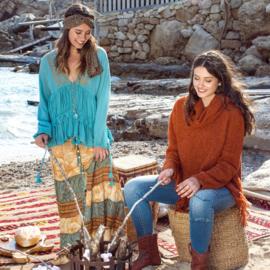Maxi Skirt Bohemian Isla Ibiza - Multi 8219800 print 001-002-003