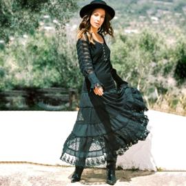 Skirt Lace Black 8221803-2