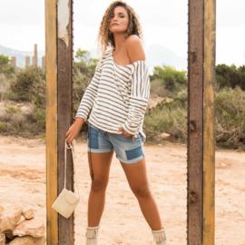 Jeans Shorts Isla Ibiza- Denim