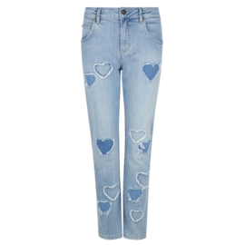 Denim Slim Fit Love Hearts Jeans Blue 8220219 - Isla Ibiza Bonita