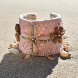 Bracelet Lush roze  - Hot Lava