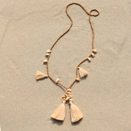 Mala with Love - Beige - Bali Touch