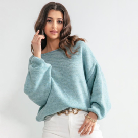 Sweater weather, Color Blue - Fobya F1159
