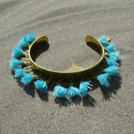 Cuff bracelet - Blue - Toscana Pulseras
