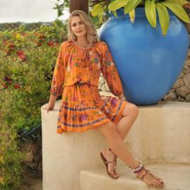 Dress Sally - Sardegna, Hot Lava