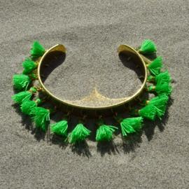 Cuff bracelet - Green | Toscana Pulseras