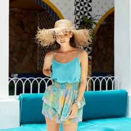 Top Nina Uni - Turquoise - Hot Lava